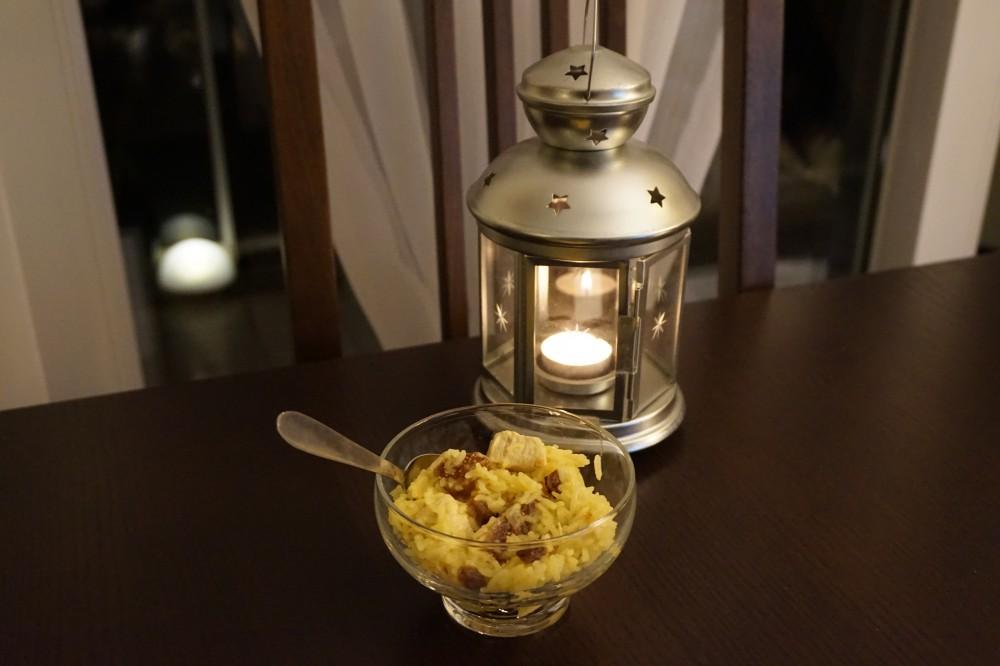 Riz pilaf de poulet aux figues la cuisine du farfadet toqu - Quelle quantite de riz par personne ...