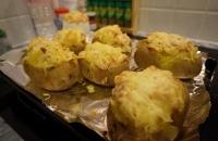 Patates farcies au jambon & Boursin