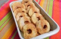 Pommes au four Caramel & Amandes
