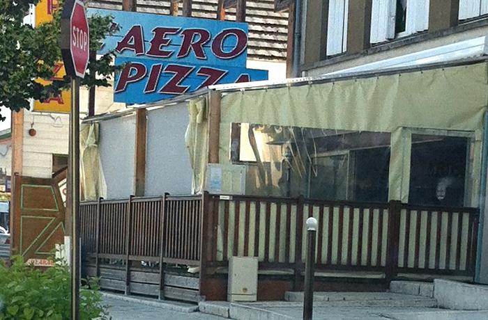 Restaurant «l'Aéropizza» à Bourges