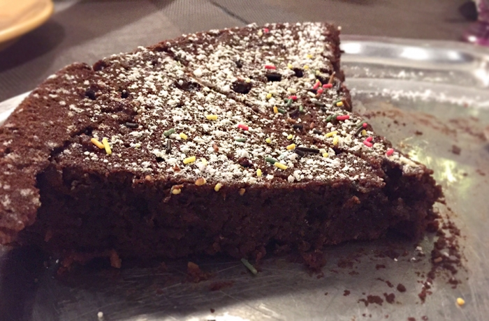 Gâteau au chocolat & courgettes